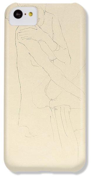 Study For Adele Bloch Bauer II IPhone 5c Case by Gustav Klimt