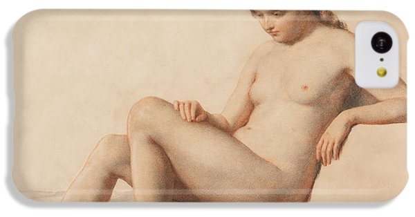 Nudes iPhone 5c Case - Study Of A Nude by William Mulready