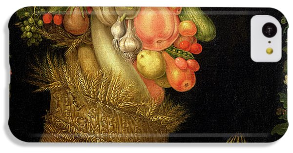 Summer IPhone 5c Case by Giuseppe Arcimboldo