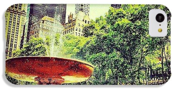 Amazing iPhone 5c Case - Summer In Bryant Park by Luke Kingma