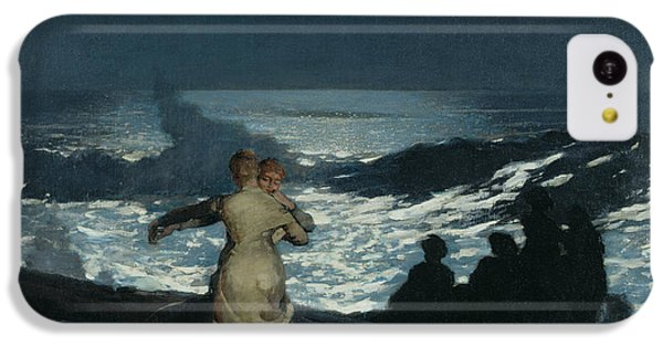 Summer Night IPhone 5c Case by Winslow Homer