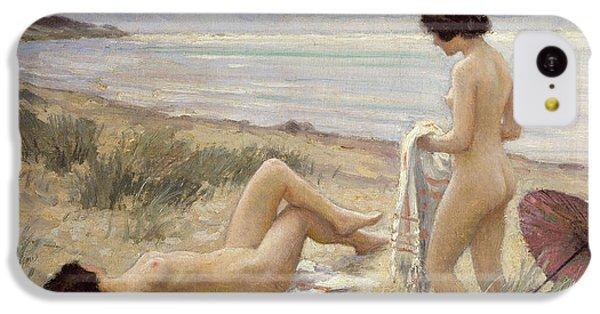 Summer On The Beach IPhone 5c Case by Paul Fischer