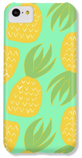 Summer Pineapples IPhone 5c Case