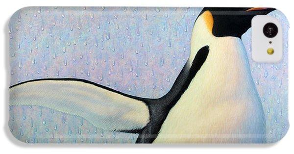 Penguin iPhone 5c Case - Summertime by James W Johnson
