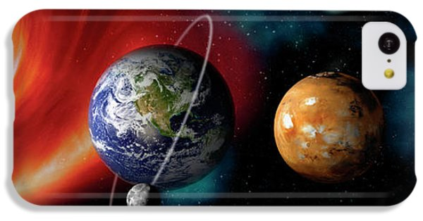 Sun And Planets IPhone 5c Case by Panoramic Images