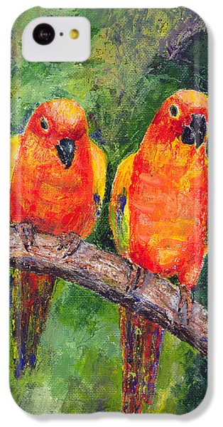 Sun Parakeets IPhone 5c Case