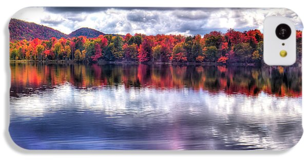 IPhone 5c Case featuring the photograph Sun Streaks On West Lake by David Patterson
