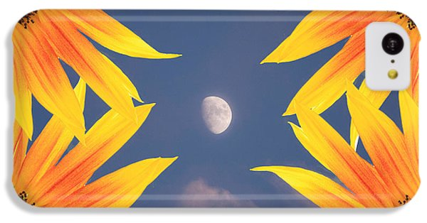 Sunflower Moon IPhone 5c Case by James BO  Insogna