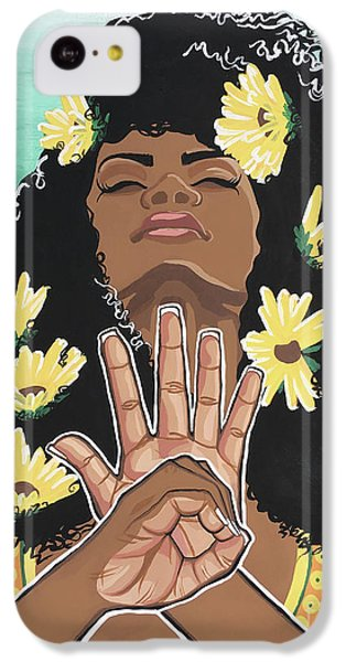 Sunflowers And Dashiki IPhone 5c Case