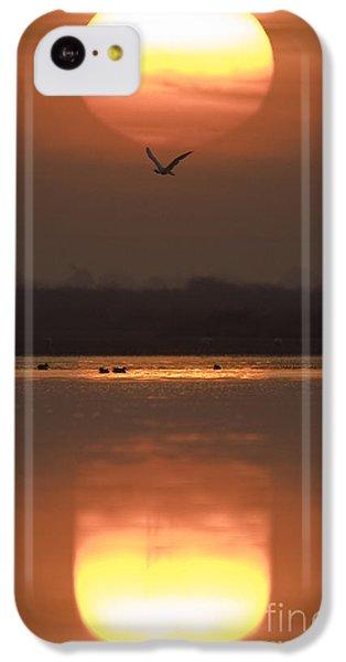 Sunrise Reflection IPhone 5c Case by Hitendra SINKAR