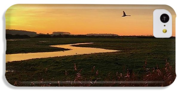 Sunset At Holkham Today  #landscape IPhone 5c Case