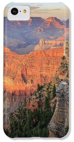 Sunset At Mather Point IPhone 5c Case by David Chandler