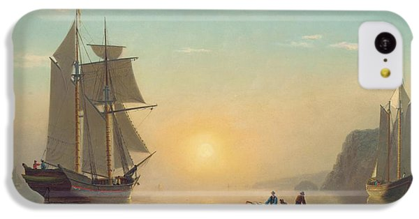 Sunset Calm In The Bay Of Fundy IPhone 5c Case by William Bradford