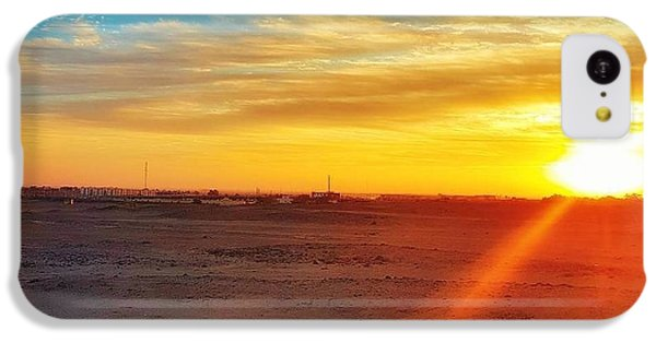 Landscapes iPhone 5c Case - Sunset In Egypt by Usman Idrees
