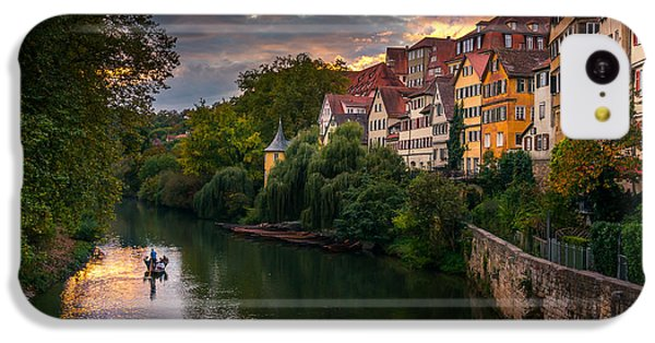 City Sunset iPhone 5c Case - Sunset In Tubingen by Dmytro Korol