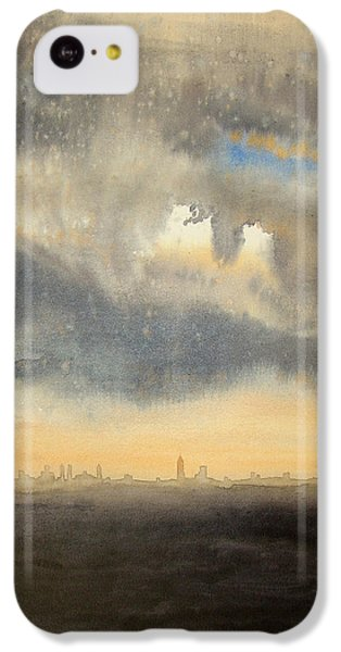 City Sunset iPhone 5c Case - Sunset Over The City by Andrew King