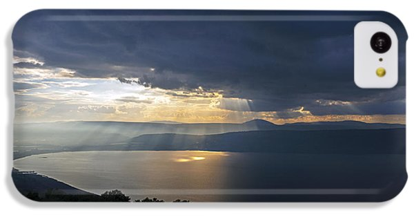 Sunset Over The Sea Of Galilee IPhone 5c Case