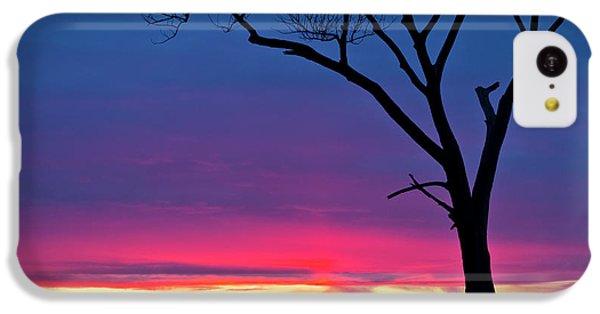 Sunset Sundog  IPhone 5c Case by Ricky L Jones