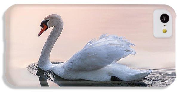 Sunset Swan IPhone 5c Case by Elena Elisseeva
