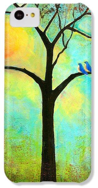 Bluebird iPhone 5c Case - Sunshine Tree by Blenda Studio