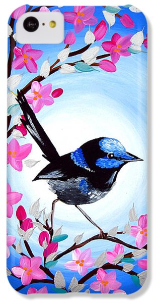 Superb Fairy Wren IPhone 5c Case by Cathy Jacobs
