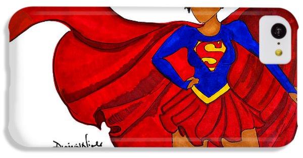 Superwoman I Am  IPhone 5c Case by Diamin Nicole