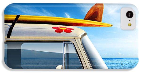 Surf Van IPhone 5c Case by Carlos Caetano