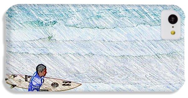 Surfer In Aus IPhone 5c Case by Daisuke Kondo