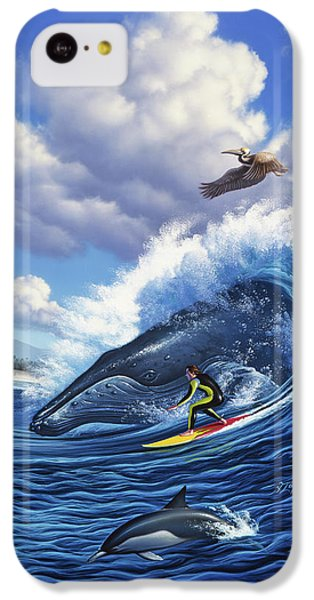 Pelican iPhone 5c Case - Surf's Up by Jerry LoFaro