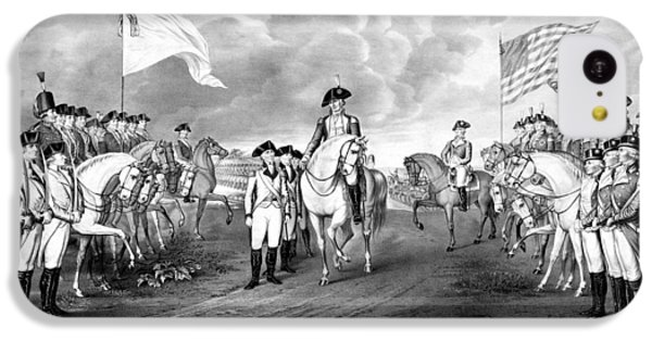 Surrender Of Lord Cornwallis At Yorktown IPhone 5c Case by War Is Hell Store