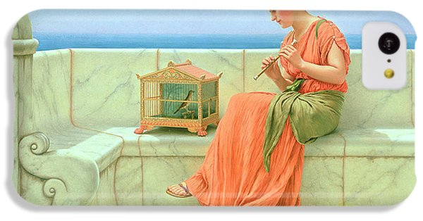 Sweet Sounds IPhone 5c Case by John William Godward