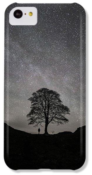 Robin iPhone 5c Case - Sycamore Gap  by Mark Mc neill