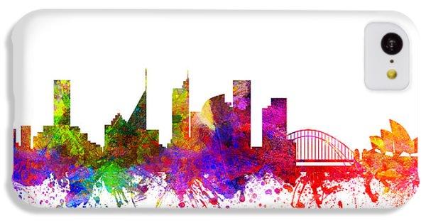 Sydney Australia Cityscape 02 IPhone 5c Case by Aged Pixel