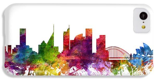 Sydney Australia Cityscape 06 IPhone 5c Case by Aged Pixel