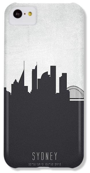 Sydney Australia Cityscape 19 IPhone 5c Case by Aged Pixel