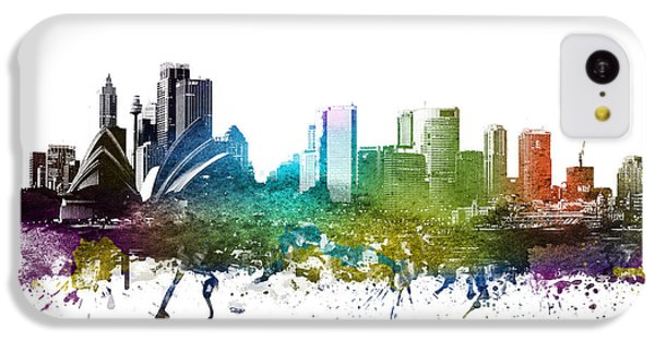 Sydney Cityscape 01 IPhone 5c Case