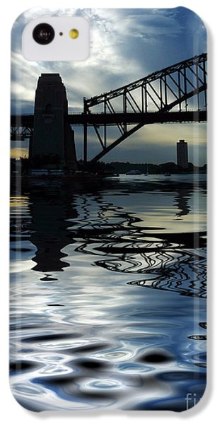 Sydney Harbour Bridge Reflection IPhone 5c Case by Avalon Fine Art Photography