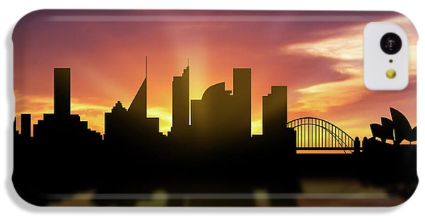 Sydney Skyline Sunset Ausy22 IPhone 5c Case