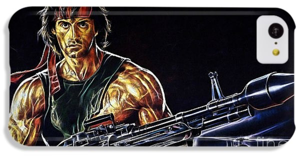 Sylvester Stallone Collection IPhone 5c Case by Marvin Blaine