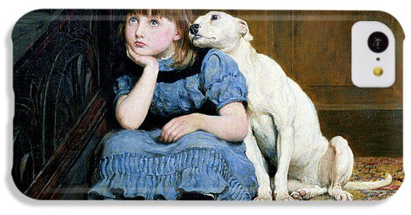 Dog iPhone 5c Case - Sympathy by Briton Riviere