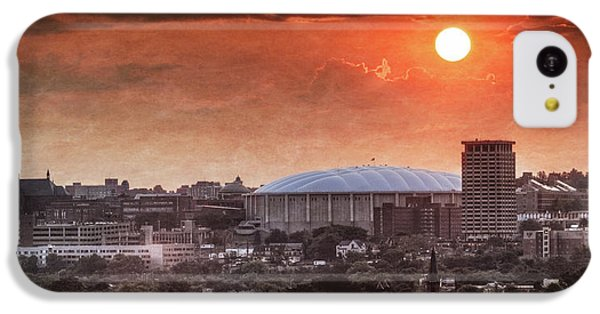 Syracuse Sunrise Over The Dome IPhone 5c Case by Everet Regal