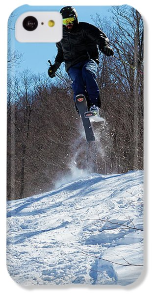 IPhone 5c Case featuring the photograph Taking Air On Mccauley Mountain by David Patterson