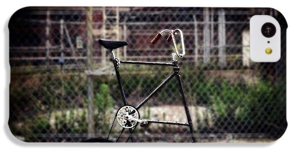 Gmy iPhone 5c Case - Tall Bike by Natasha Marco