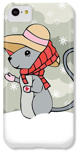 Tatty Winter IPhone 5c Case by Christy Beckwith