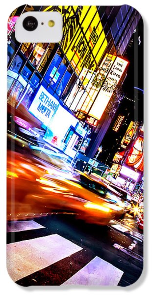 Taxi Square IPhone 5c Case by Az Jackson