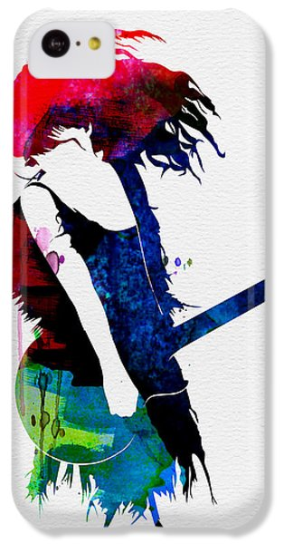 Taylor Watercolor IPhone 5c Case by Naxart Studio