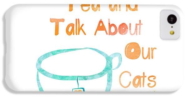 Tea And Cats Square IPhone 5c Case