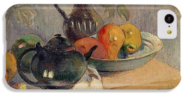 Teiera Brocca E Frutta IPhone 5c Case by Paul Gauguin