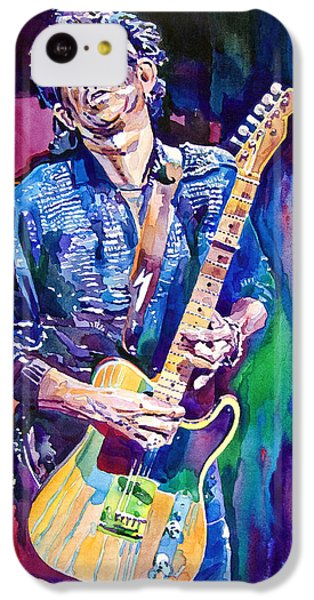 Guitar iPhone 5c Case - Telecaster- Keith Richards by David Lloyd Glover