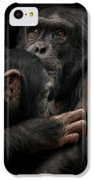 Tenderness IPhone 5c Case by Paul Neville